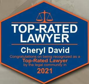 Top Rated Lawyer Cheryl David 2021